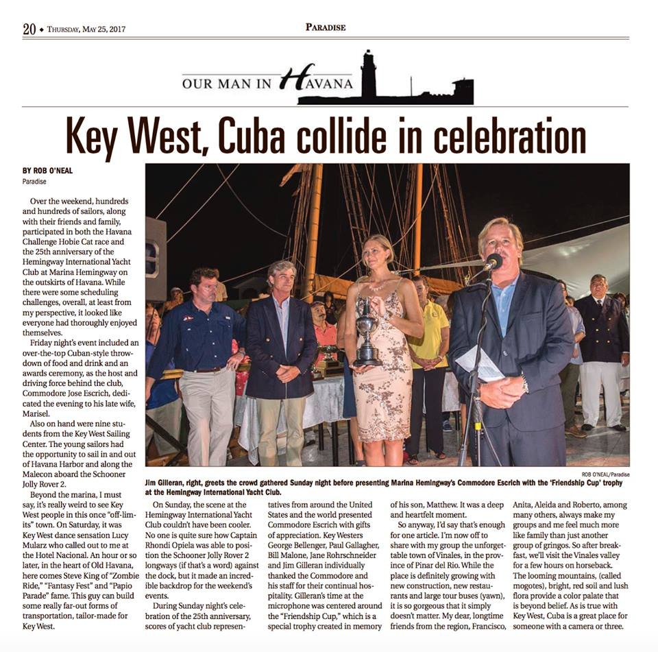 Key West, Cuba Collide in Celebration
